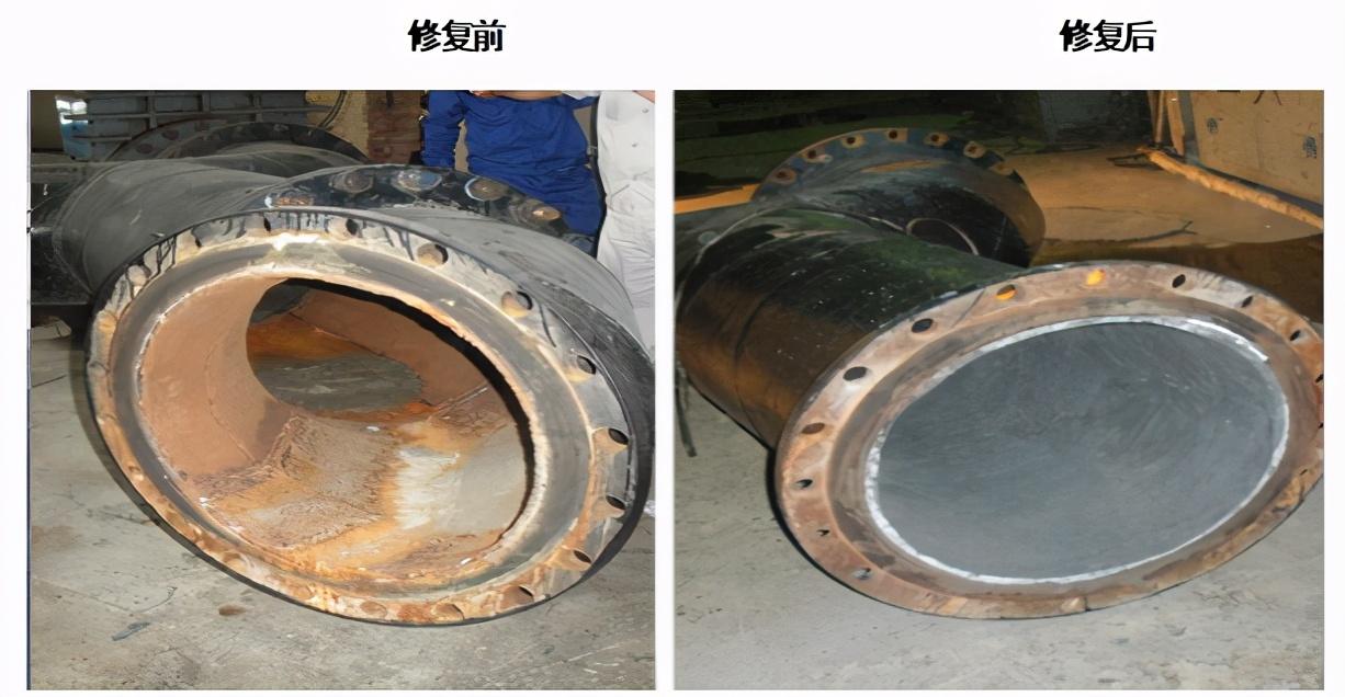 修复耐磨管道-RJ耐磨材料真高效